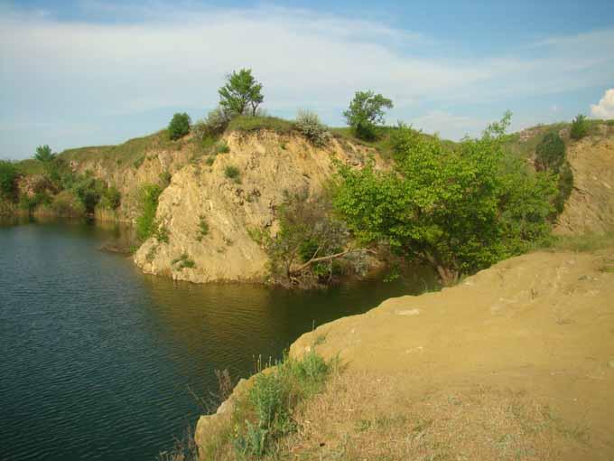 Скала озеро Александрия Алеевка Протопоповка