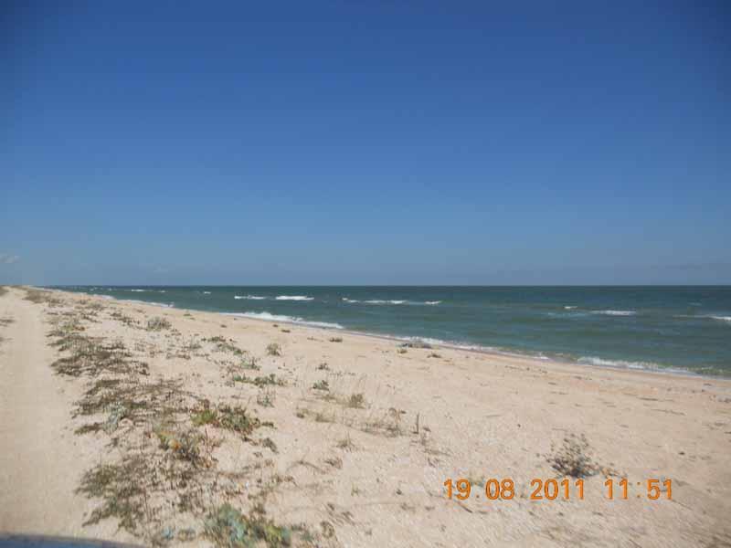 дорога Арабатская стрелка Азовское море