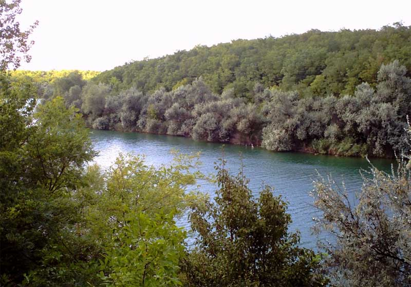 Озеро в Балаховке
